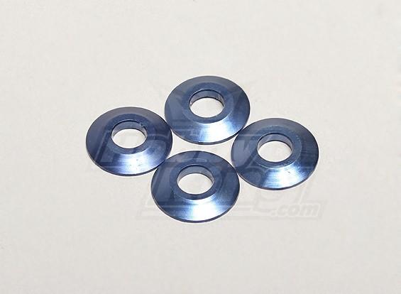 Nutech aluminio arandela (4pcs) - Turnigy Titan 1/5 y 1/5 del trueno