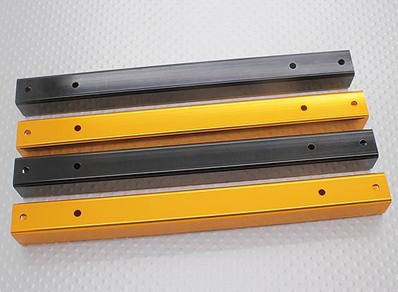 Hobbyking X650F fibra de vidrio de 550 mm de Quadcopter del marco del tubo de aluminio (4pcs)