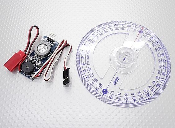 Motor de gas de encendido CDI de prueba y herramienta de configuración de sincronización - Incluye cigüeñal Grado de ruedas