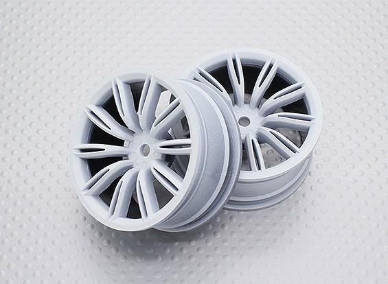 Escala 1:10 alta calidad Touring / deriva de las ruedas del coche RC de 12 mm Hex (2 piezas) CR-VIRAGEW