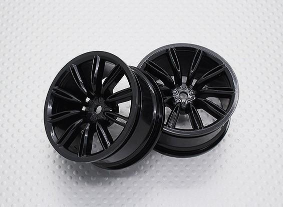 Escala 1:10 alta calidad Touring / deriva de las ruedas del coche RC de 12 mm Hex (2 piezas) CR-VIRAGENB