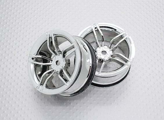 Escala 1:10 alta calidad Touring / deriva de las ruedas del coche RC de 12 mm Hex (2 piezas) CR-FFC