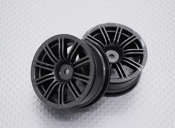 Escala 1:10 alta calidad Touring / deriva de las ruedas del coche RC de 12 mm Hex (2 piezas) CR-M3M