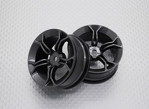 Escala 1:10 alta calidad Touring / deriva de las ruedas del coche RC de 12 mm Hex (2 piezas) CR-MP4M
