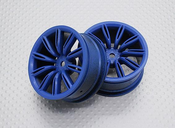 Escala 1:10 alta calidad Touring / deriva de las ruedas del coche RC de 12 mm Hex (2 piezas) CR-VITSB