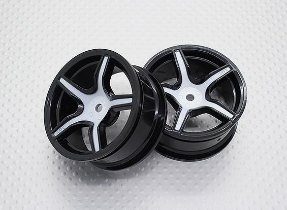 Escala 1:10 alta calidad Touring / deriva de las ruedas del coche RC de 12 mm Hex (2 piezas) CR-CHW