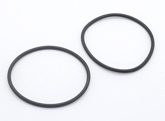Batería fijo del anillo de goma - 1/10 Turnigy GT-10X Pan de coches (2 unidades)