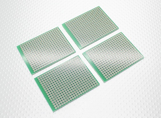 DIY 57x45mm PCB tablero de pan (4pcs / bolsa)