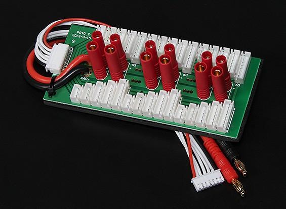 HobbyKing paralelo Junta de carga de 6 paquetes 2 ~ 6S (HXT4mm)