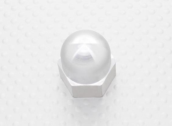 19 mm de aleación de Prop Nut / Spinner Suites 5 mm de rosca (anodizado plata)