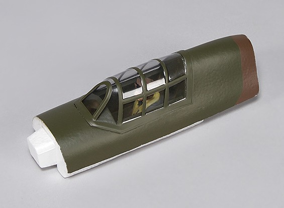 Hawker Hurricane Mk IIB 1000mm - Canopy reemplazo