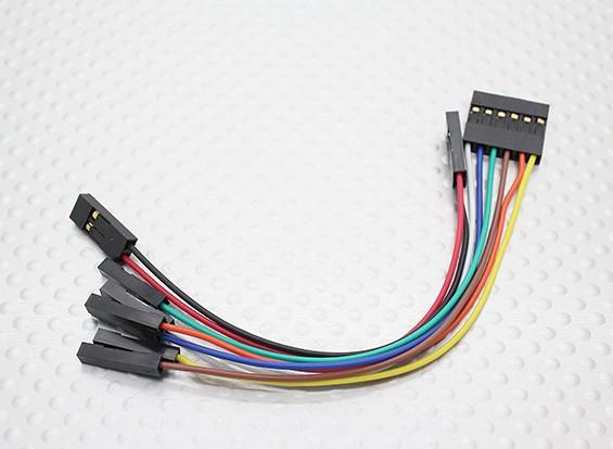 120 mm Jumper Juego de cables (2 piezas)