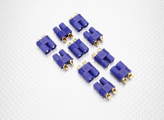 EC3 conectores macho / hembra (5 pares / bolsa)
