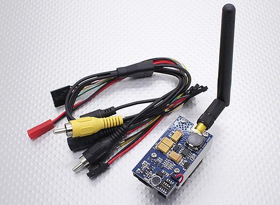 SkyZone TX51W 5.8GHz 1Watt 8 canales de audio / vídeo transmisor de FPV
