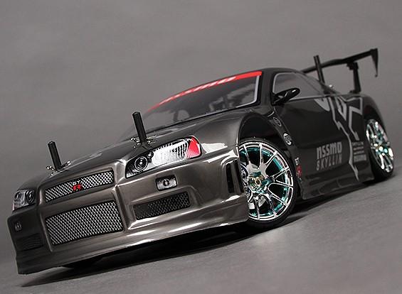 1/10 HobbyKing® ™ Misión-D 4WD GTR Drift Car (KIT DE RODILLO)