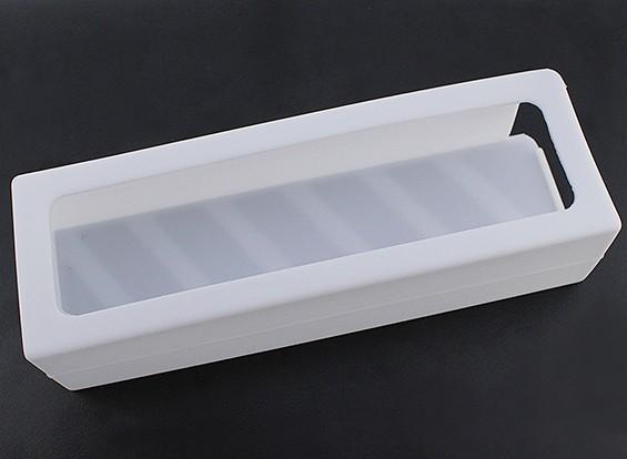 Turnigy suave de silicona protector de la batería de Lipo (3600-5000mAh 5S blanco) 155x52x38.5mm