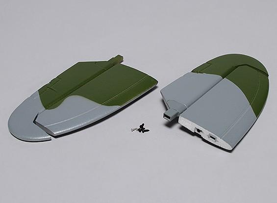 Durafly ™ Spitfire Mk 24 - Sustitución del estabilizador horizontal