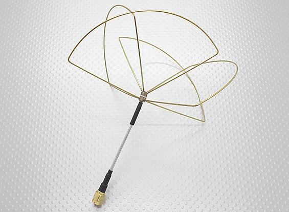1,2 GHz circular polarizado antena SMA (sólo receptor)