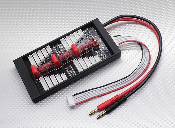 HobbyKing® seguro 40A paralelo Junta de carga para 4 paquetes de 2 ~ 6S (Conector-T)