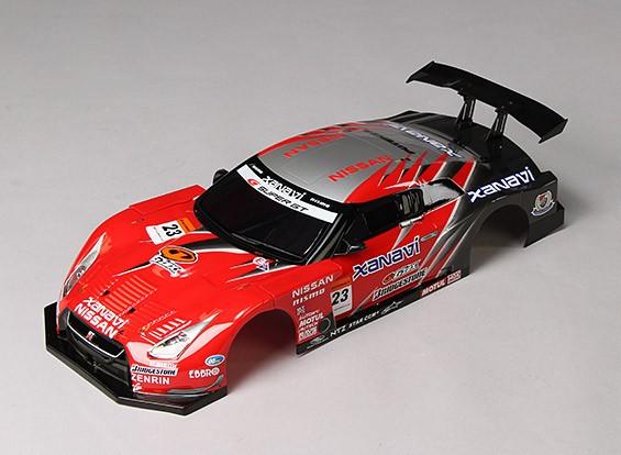 01:10 GT-R R35 GT Terminado Shell Cuerpo
