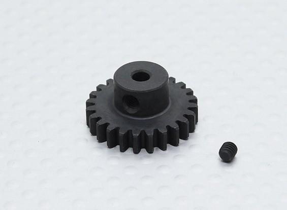 24T / 32 3.17mm Pitch acero endurecido engranaje de piñón