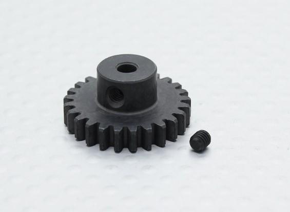 25T / 32 3.17mm Pitch acero endurecido engranaje de piñón