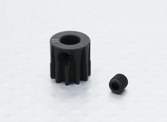 11T / 5 mm de acero templado 32 Pitch engranaje de piñón