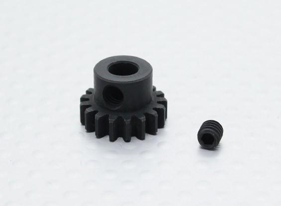 17T / 5 mm de acero templado 32 Pitch engranaje de piñón
