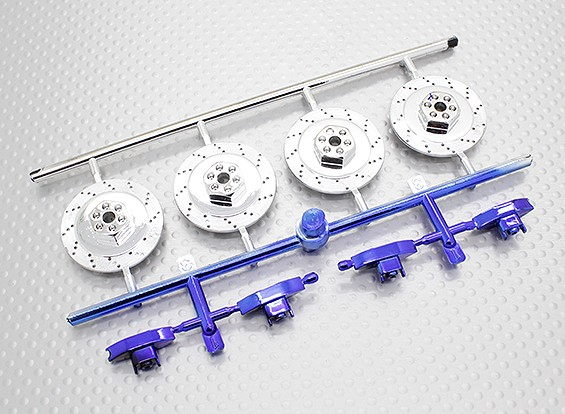 Conjunto escala Break-Disco - 1/10 HobbyKing Misión-D 4WD GTR Drift Car (4set)