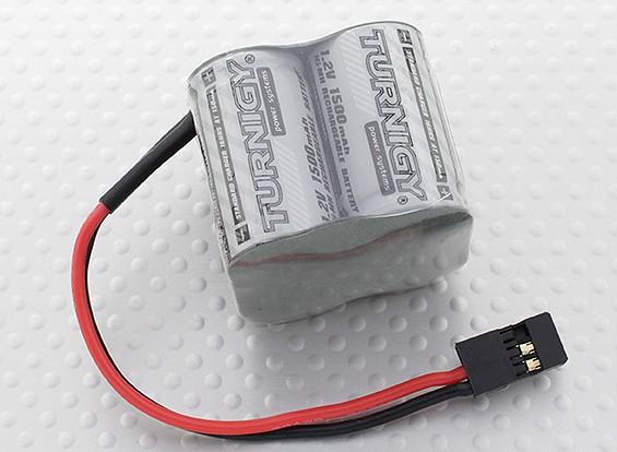 Serie de alta potencia Receptor Turnigy Pack 2 / 3A 4.8V 1500mAh NiMH