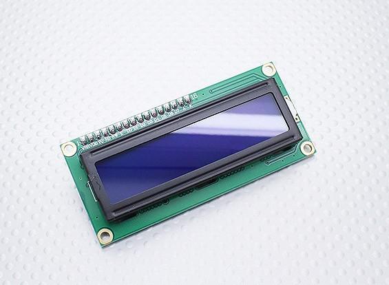 Kingduino IIC / I2C Módulo LCD Pantalla Azul 1602
