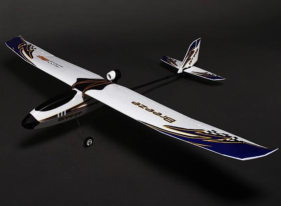 HobbyKing® Breeze ™ Planeador w / Opcional Flaps EPO 1400mm (KIT)