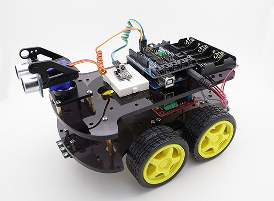 Robot Kit Kingduino 4WD ultrasónico
