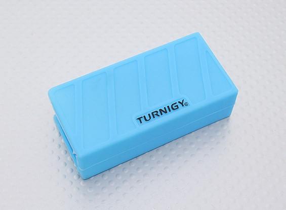 Turnigy suave de silicona protector de la batería de Lipo (3S 1000-1300mAh azul) 74x36x21mm