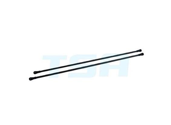TSA Infusión 700E Pro, 700N PRO - Non-Weave fibra de carbono Tail boom de soporte establecen Î|8