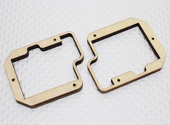 Turnigy capas del montaje servo para Slim Ala Servo - TGY-S712G (2 piezas)