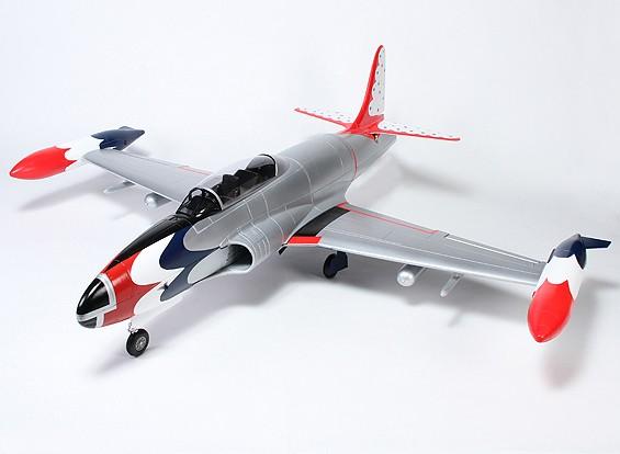 Los Thunderbirds T-33 de 90 mm EDF Jet Trainer EPS 1683mm (PNF)
