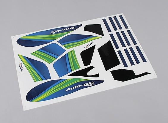 Durafly ™ Auto-G2 Girocóptero 821mm - Sustitución de la etiqueta