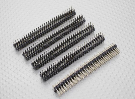 Alfiler Cabecera de 3 hileras 30Pin 2.54mm (5PCS)