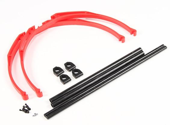 M200 Pata de cangrejo Landing Gear Set DIY (rojo)