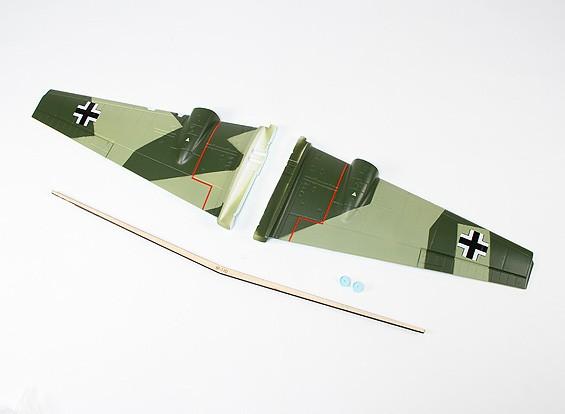 Durafly ™ Messerschmitt Bf.110 - Sustitución ala principal Conjunto