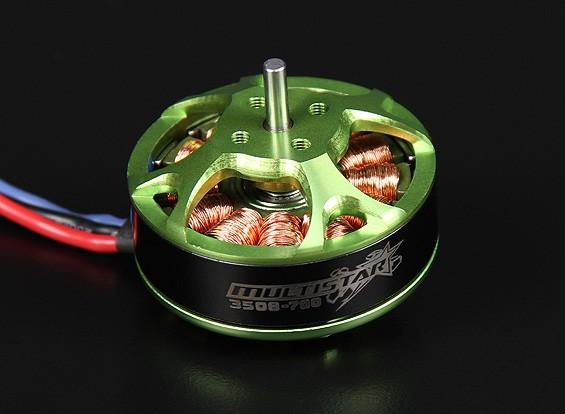 3508-700KV Turnigy Multistar 14 Polo sin escobillas Multi-rotor del motor con cables extra largas