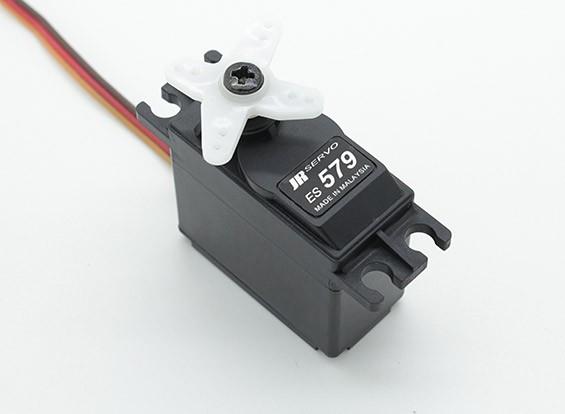 JR ES579 esfuerzo de torsión del servo analógico estándar con engranajes de metal 8,3kg / 0.23sec / 48g