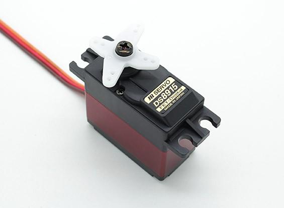 JR DS8915 High Torque Digital Servo con engranajes de metal y del disipador de calor