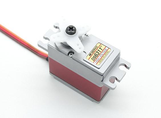 JR DS6311HV High Torque Digital Servo con engranajes de metal y del disipador de calor