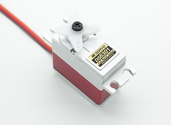 JR DS6301 High Torque Digital Servo con engranajes de metal y Caso