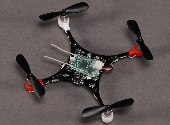 HobbyKing bolsillo V1.1 Quad Ultra-Micro DSM2 MultiWii Quadcopter (PNF)
