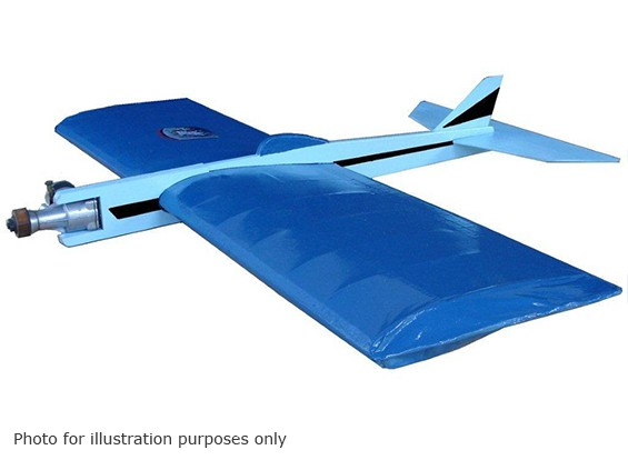 Modelos Negro Hawk control Apocalypse Línea Stunter Balsa 860mm (Kit)