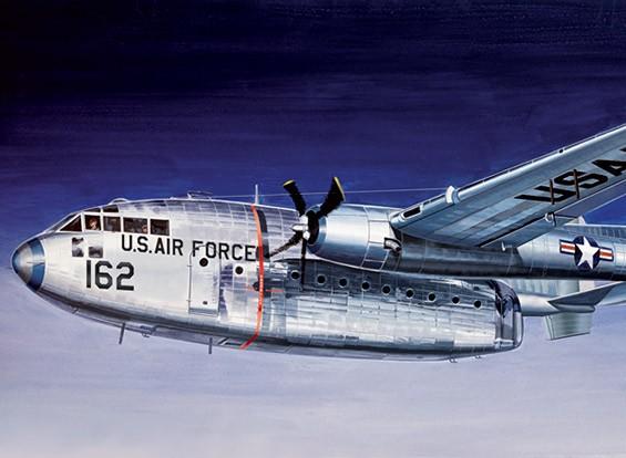 Italeri Escala 1/72 Kit C-119 Flying Boxcar Modelo Plástico
