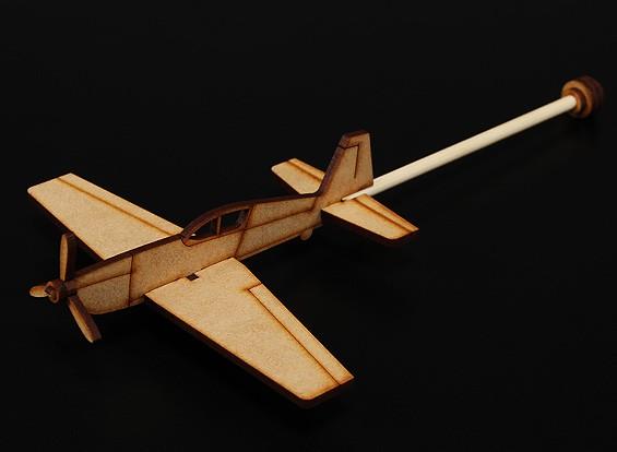 Práctica extra de 300 palillo plano cortado con láser Modelo de madera (Kit)